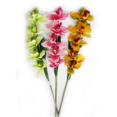 Цветок искусственный Орхидея 90см