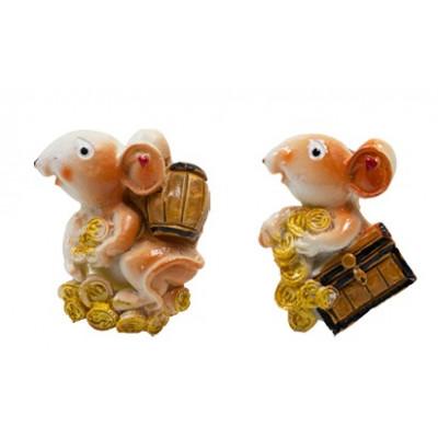 "Магнит ""Мышки""(керамика) 4*5,5см"