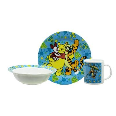 Детский набор Дисней(тарелка с бортиками)