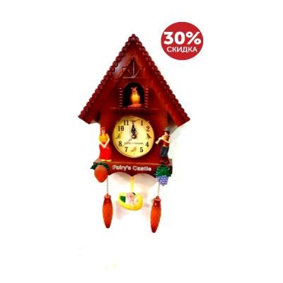 Часы настенные Домик 31,5*16 см