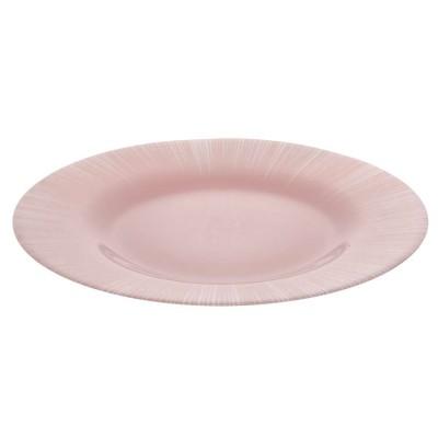 """Focus"""" тарелка упроч. 2 цв. роз. (d-260мм) SL со стикером 10328 D 29083 SL"""