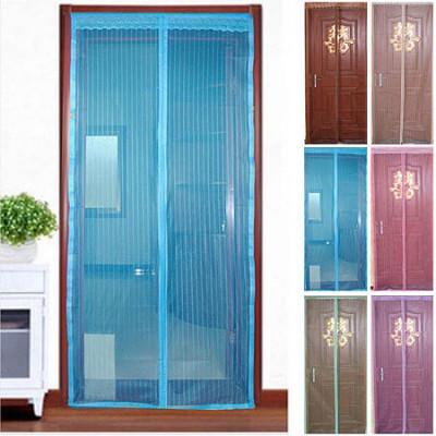 Противомоскитная сетка на магнитах в дверной проем 105*210 6 цветов