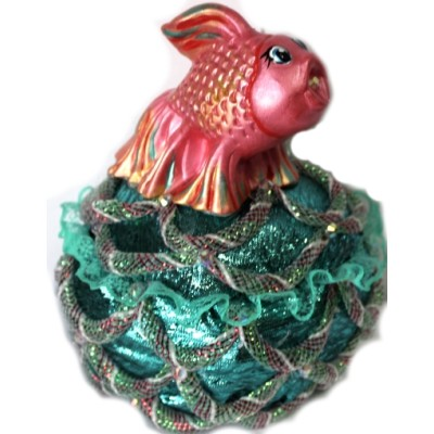 Шкаткулка с рыбкой