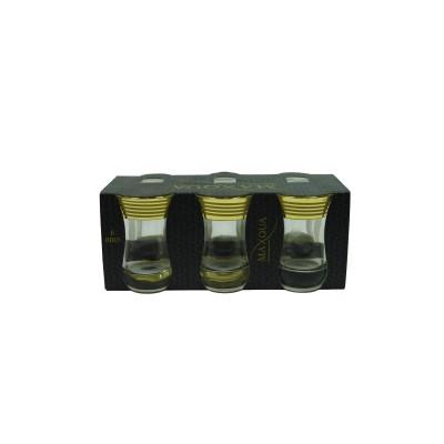 """EAV65V-561/T Набор 6 чайных стаканов  с рисунком """"Иллюзия"""""""