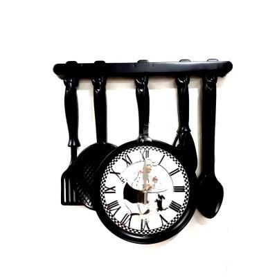 """Часы настенные """"Кухонные принадлежности"""""""