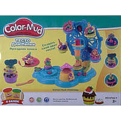"""Набор для лепки """"Праздник кекса"""" Color-mud"""
