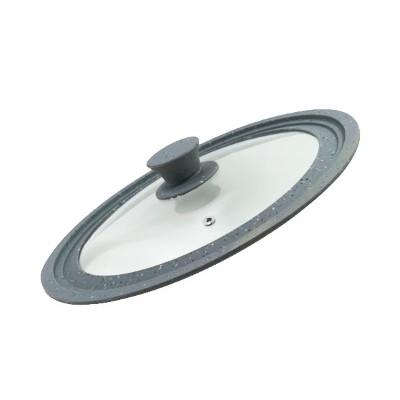 Универсальная крышка 24-26-28(стекло.силикон)