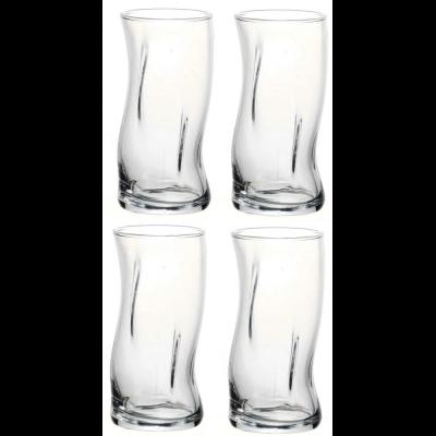 "Amorf"" набор 4-х стаканов 340мл 420224"