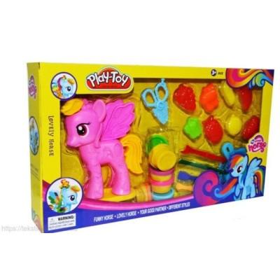 "Набор для лепки ""Пони"" Play toy"
