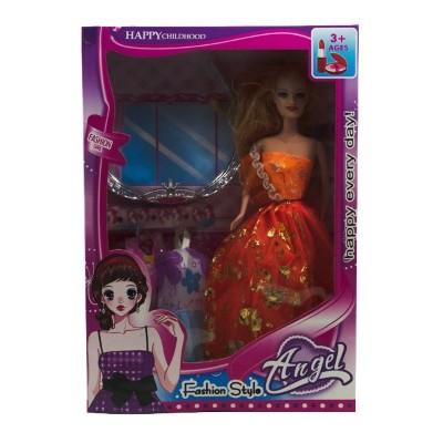 Кукла+корона +два платья