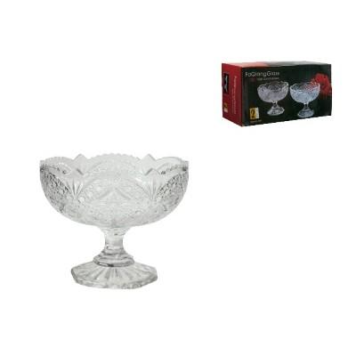 Набор из 2-х вазочек стекло