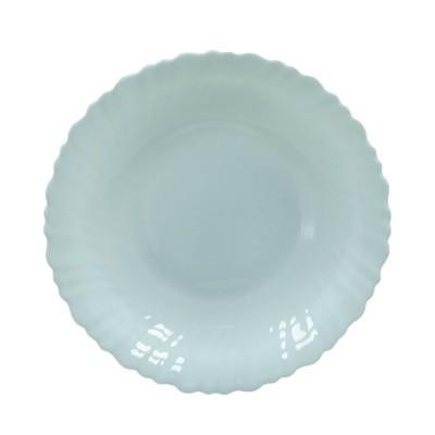 """Тарелка суповая 8,5"""" 20,5см Опаловое стекло"""