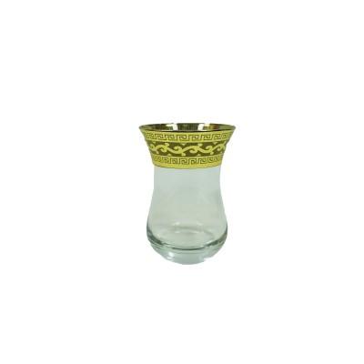 """EAV08V-511/1349/T  Набор 12 предметов (6 чайных стаканов для чая, 6 блюдец) с рисунком """"Версаче"""""""