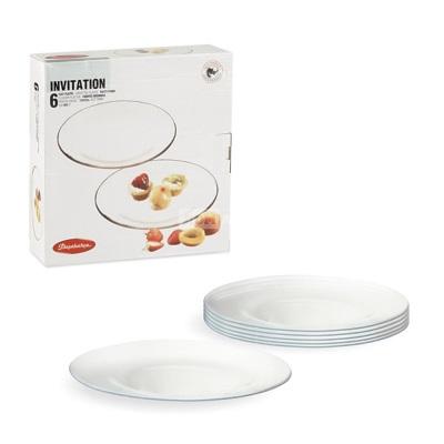INVITATION Набор тарелок 6шт 200мм