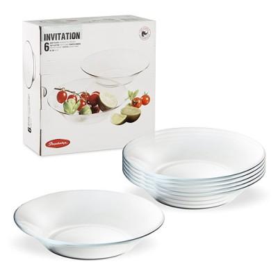INVITATION Набор тарелок 6шт 220 мм