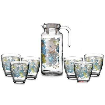 BIUE ДРИМ Набор: Кувшин + 6 стаканов