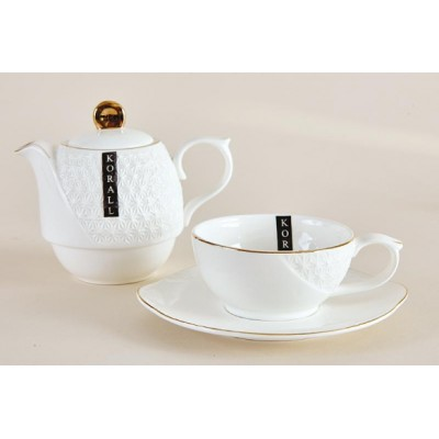 Набор чайный 240мл.340мл ф.круг 3пр