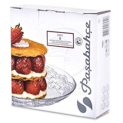 """Lacy"""" набор 6-ти тарелок десертных упроч. (d-160мм) 10591"""