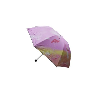 Зонт (не автомат) Фламинго