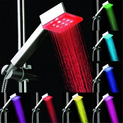 LED насадка для душа