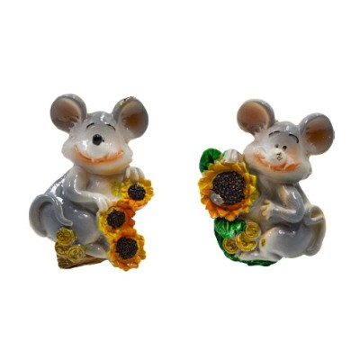 "Магнит ""Мышки""(керамика) 5*7см"