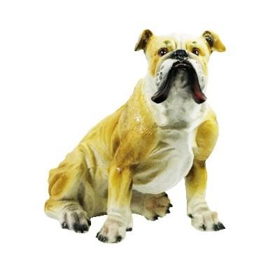 Собака Бульдог 30см (полистоун)