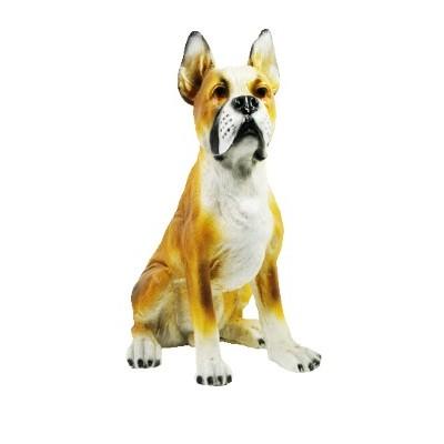 Собака Боксер 36см (полистоун)