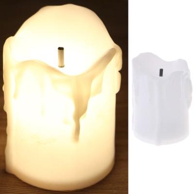 LED свеча(пластик) 12см