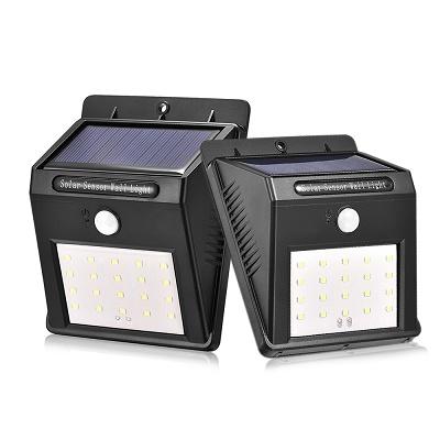 Фонарь уличный LED с датчиком движения(solar) БЕСПРОВОДНОЙ, на солнечной батарее 102*53*130мм